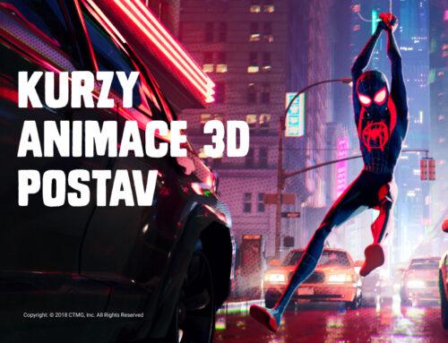 ANOMALIA letos nabídne pestrý mix kurzů 3D animace